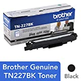 Brother TN227BK Laser Printer Toner, Black