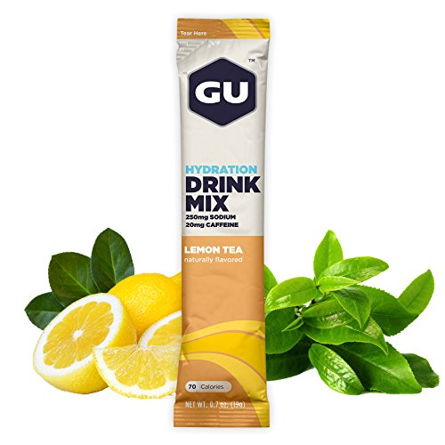 GU Hydration Drink Lemon Count