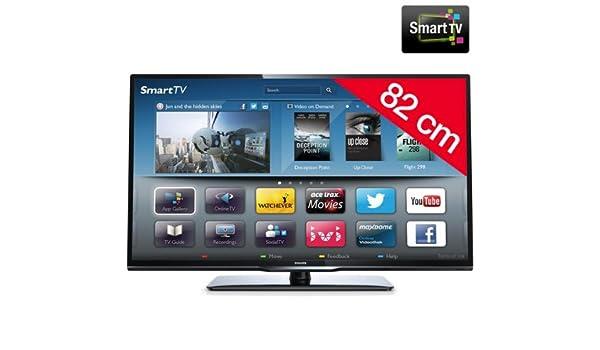 PHILIPS Televisor LED 32PFL3208H/12: Amazon.es: Electrónica