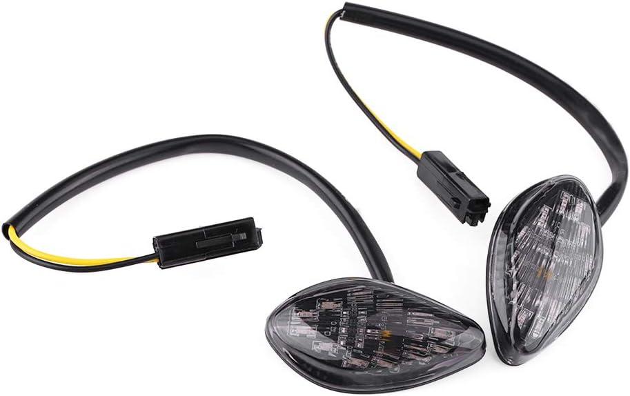 Nivvity Luz Trasera 12V Resistente 2 Pines Compatible electr/ónico Intermitente Fijo Intermitente rel/é Intermitente Led Intermitente rel/é Intermitente