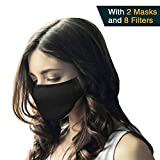 N95 Respirator Mask (Pack of 2) - Breathing Mask, Pollution Mask Filter and Allergy Mask for Pollen and Protect Against Illness, Allergens, Pollutants and Maintain Better Health