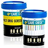 Care Check 12 Panel Drug Test Cups, 5 Pack - Sterile Multi Drug Tests - Tests Instantly for THC, COC, OXY, AMP, BZO, BAR, MET, MDMA, MTD, MOP, PCP and TCA