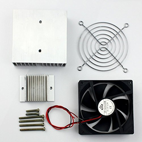 Huhushop(TM) DIY Thermoelectric Refrigeration Semiconductor Cooling System Cooler fan Kit by Yosoo (Image #6)