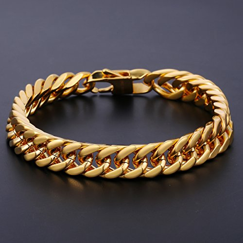 Buy cuban bracelet and chain gold