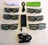 3D Glasses (6) and 5 choices of 3D kits--you choose--One has EY-3D-EMT2H Emitter (only our emitter comes with the essential cable) and others have IR or bluetooth kits for Mitsubishi HC9000D, HC9000DW, HC7800D, HC7800DW, HC8000, HC8000d-bl, HC7900DW, HC5