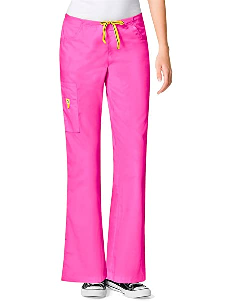 Amazon.com: WonderWink Women's Scrubs Romeo Six-Pocket Flare Leg Pant:  Medical Scrubs Pants: Clothing