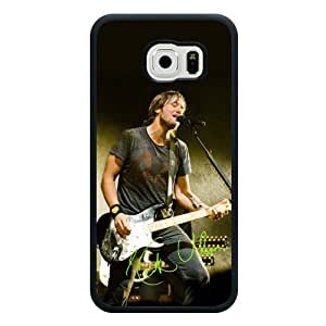 Galaxy S6 Case, Customized Keith Urban Black Soft Samsung Galaxy S6 Case, Keith Urban Galaxy S6 Case(Not Fit for Galaxy S6 Edge)