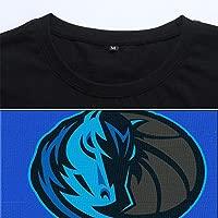 Dallas Mavericks luka Doncic #77 Jersey Camiseta de Cuello Redondo para Hombre Baloncesto Deportivo Traje de entrenamiento Tee Tops