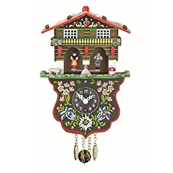 Trenkle Black Forest Clock Swiss House Weather House