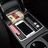 etopmia Car Glove Box Armrest Storage box Organizer Center Console Tray fit Audi A4 A5 B8 2012-2016