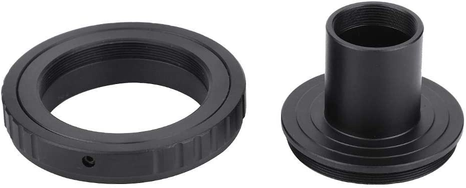 Serounder Microscope Eyepiece Adapter Ring,Metal Adapter Converter for 23.2mm T Mount Microscope Eyepiece to for Olympus OM Mounts SLR Camera