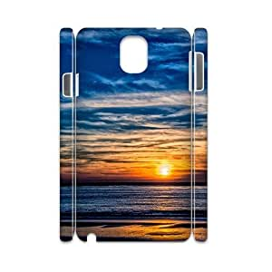 Diy Sunset Beach Phone Case for samsung galaxy note 3 3D Shell Phone JFLIFE(TM) [Pattern-4]