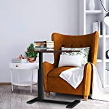 Overbed Table with Wheels,Balee Over Bed Table