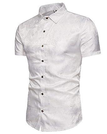 Camisa De Polo para De Hombre Verano Casual Modernas con Estampado ...