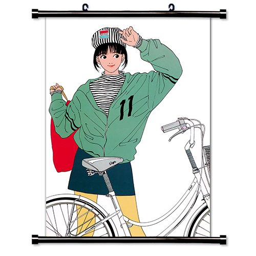 Hisashi Eguchi Anime Fabric Wall Scroll Poster 32 Quot X 43