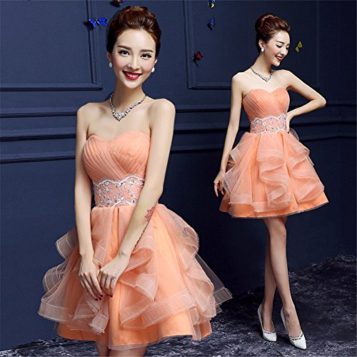 Empire Orange Drasawee Kleid Damen Kleid Damen Orange Empire Drasawee Drasawee dpnqw