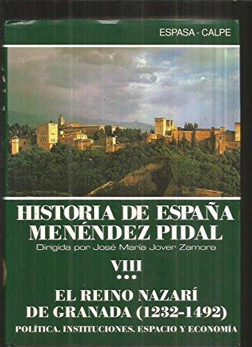 Historia de España 8.III Historia de España Menéndez Pidal: Amazon.es: Menendez Pidal, Ramon: Libros