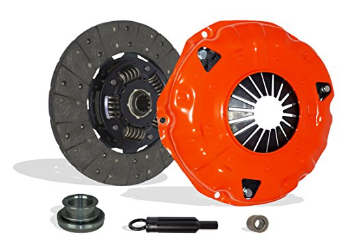 Clutch Kit Works With Chevrolet Gmc Trucks Sierra Yukon Jimmy Cheyenne Silverado WT Beauville Chevy Van Sportvan Hi-Cube Rally 1985-1991 4.3L V6 GAS OHV Naturally Aspirated (11 inch. Clutch; Stage 1)