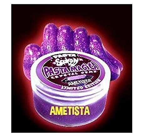 PASTA SQUISHY - PASTA MAGICA - COLORE AMETISTA - CRYSTAL GEMS