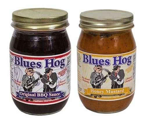 - Blues Hog Sauce Barbeque Original, 16 oz & Honey Mustard Sauce 16 oz (Pack of 2)