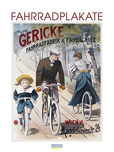 Fahrradplakate 2018: Großer Kunstkalender. Wandkalender mit vintage Plakaten im Kunst Gallery Format: 48 x 64 cm, Foliendeckblatt