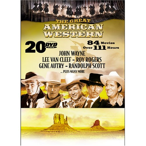 The Great American Western Limited Edition (84 Movies) by Echo Bridge Home Entertainment