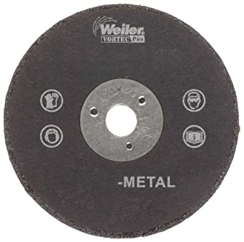 """Weiler Tiger 1/4"""" Arbor, 0.035"""" Thickness, 2""""Diameter, A60T Grit, Small Type 1 Reinforced Cut-Off Wheel"""