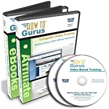 Making and Selling eBooks plus Affiliate Marketing Tutorial Training Course on 2 DVDs