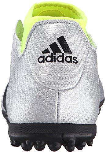 adidas Performance Herren Ace 16.3 Primemesh TF Fußballschuh Silber Metallic / Schwarz / Elektrizität