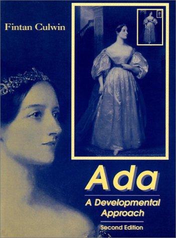 ADA: A Developmental Approach (2nd Edition) by Prentice Hall
