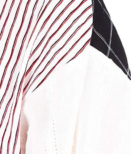 Bianco Donna Camicia Cotone D8pm91c27 8pm q1PwZYx