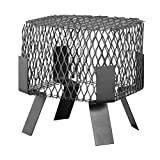 HY-C 2025 Galvanized Steel Mesh Spark Arrestor/Bird and Squirrel Screen, 9'' x 13''