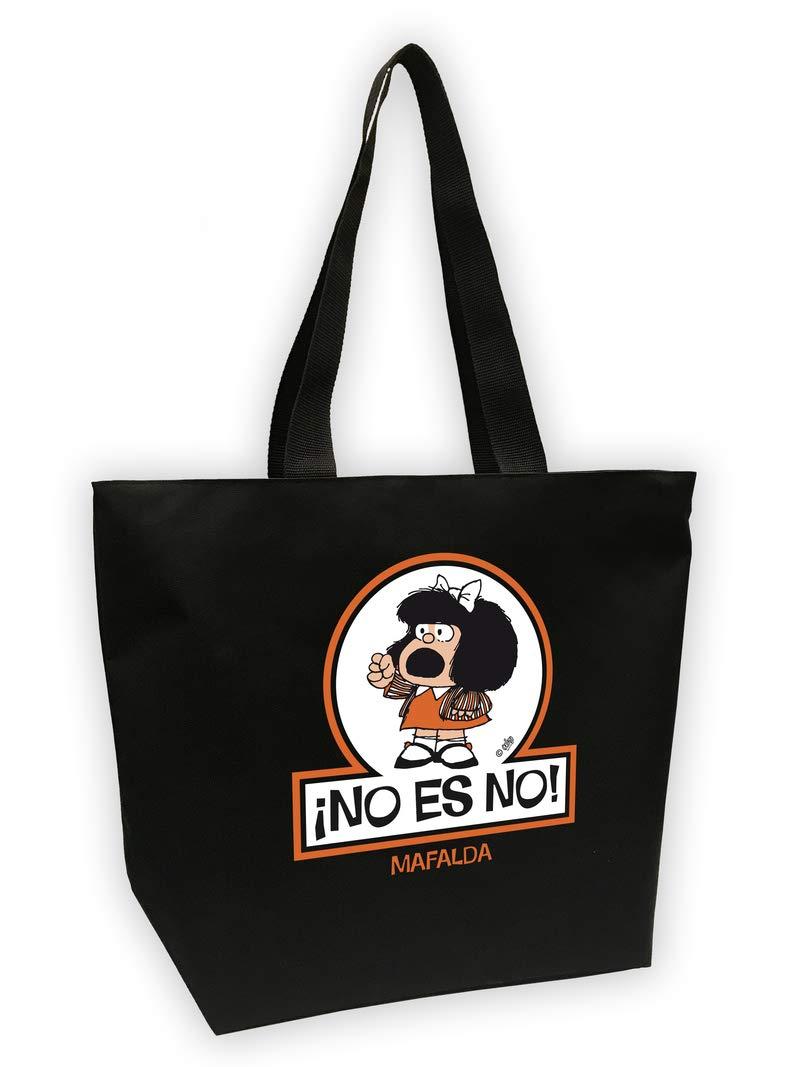 Bolsa Mega shopper Mafalda. No es no: Quino: 9788893674706 ...