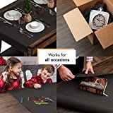 Black Paper Roll 18 by 1800 Inches (150 Feet) - Use