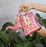 Iron Watering Can Gardening & Lawn Care Watering Equipment Outdoor & Indoor Patio Watering Cans (Elephant)