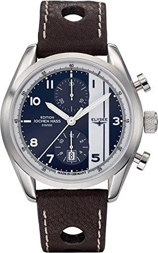 ELYSEE-Mens-70950-Jochen-Mass-Analog-Display-Automatic-Self-Wind-Brown-Watch