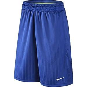 NIKE Men's Layup 2 Shorts, Game Royal/Game Royal/Game Royal/White, Large