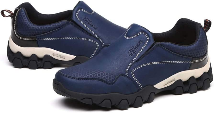 GHFJDO Hombres Botas de Senderismo, Zapatos de Running ...