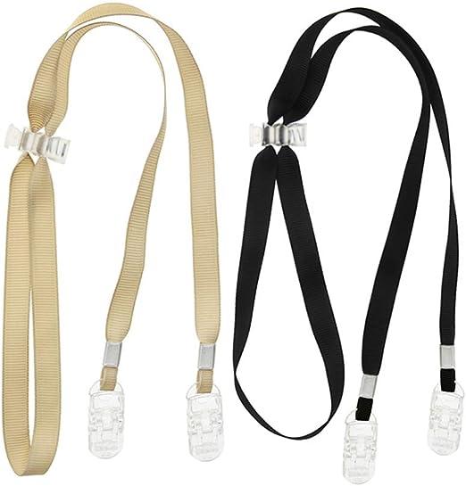 Juego de 2 servilletas con clip ajustable de poli/éster Taktik correa para el cuello