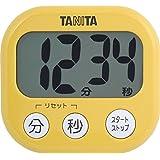 タニタ でか見えタイマー100分 マンゴーイエロー TD-384-MY