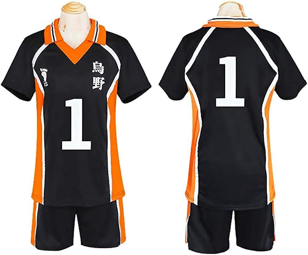 Haikyuu Cosplay Uniforme Maglia Hinata Shoyo Costume Karasuno Scuola Superiore Maglietta Pantaloncini Kageyama Tobio Vestito Sportivo
