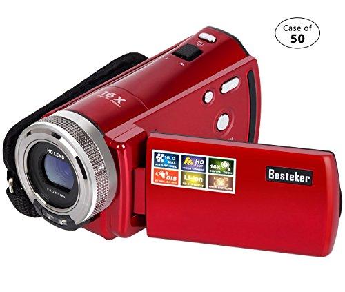 Case of 50, Besteker Camera Camcorders Portable Digital Vide