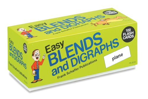 Easy Blends and Digraphs (Phonics Flash Cards)