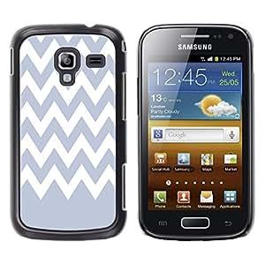 Dragon Case - FOR Samsung Galaxy Ace 2 - Purple romantic - Caja protectora de pl??stico duro de la cubierta Dise?¡Ào Slim Fit