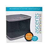 Ascents Professional Aromatherapy Diffuser + Focus No. 04 Ascents Gel, Enhanced Concentration + Hypoallergenic Malodor Mitigation for 30 Days in Spaces Up to 600 Square Feet