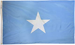 product image for Annin Flagmakers Model 197464 Somalia Flag 3x5 ft. Nylon SolarGuard Nyl-Glo 100% Made in USA to Official United Nations Design Specifications.