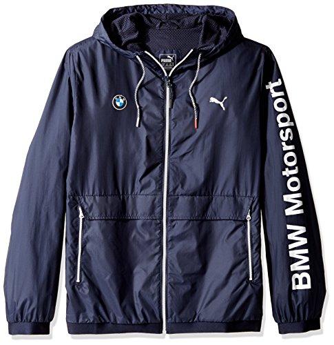 PUMA Men's BMW MSP Lightweight Jacket, Team Blue, Large