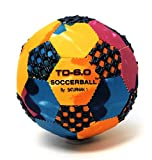FUN GRIPPER (TD) Tie-Dye Soccer Ball 6.0 Inch (PERFECT FOR INDOORS & DODGE BALL ) By:Saturnian I P.E. Supplier