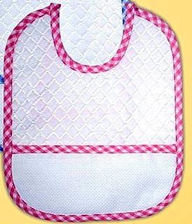 Baberos Rizo Pack de 3 unidades) ROSA