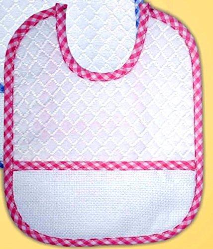 Baberos Rizo Pack de 3 unidades) ROSA: Amazon.es: Bebé